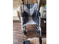 Wheelchair and motor £220