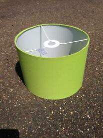 Lime Green Lampshade