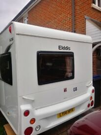 Elddis 506 2012 6 berth caravan, equipment and inflatable awning. £11,000