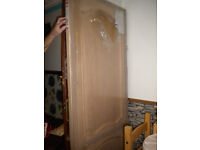 large oak veneer door