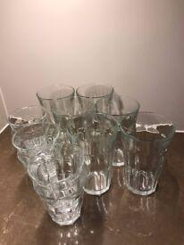 Water Glass Set - 6pcs 500ml + 6pcs 250ml
