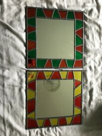 2 X wall mirror's