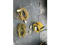 110v 16amp 25M extension & 2 10M 110v cables