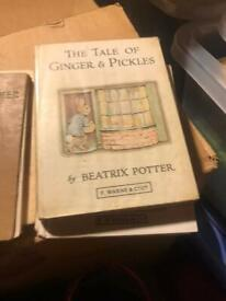 Beatrix potter books x 9