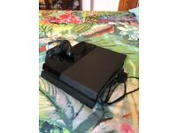 PS 4 Playstation 500GB PERFECT working order with 5m console cable