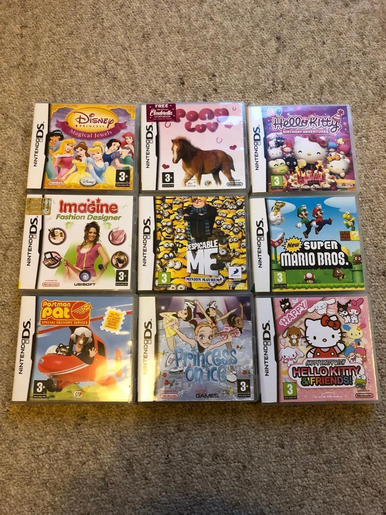 9 Nintendo DS Games