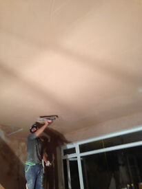 Plastering , Re-skimming walls and ceilings, Removing artex