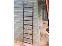 Polished Chrome Bathroom Radiator Ladder Style