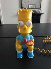 Official Bart Simpson / The Simpson's House Phone