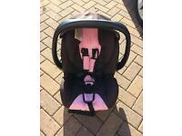 Roccaro car seat. Infant carrier.