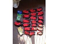 (New) Work gloves 23 pairs
