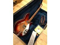 Rickenbacker 360 WB with tags, OHSC, 1993