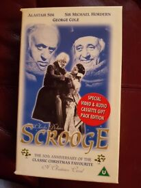 Scrooge video tape
