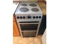 Beko BDV 555A Silver Double Oven