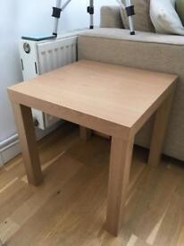 Beech effect coffee table