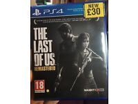 The Last Of Us PS4 game