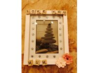 Personalised gift frames/boxes