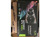 ASUS NVIDIA GeForce GTX 1080Ti 11GB ROG Strix OC Graphics Card gamers owned since new 2 months
