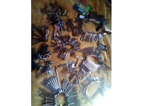 Key's. Large collection of old and collectible keys