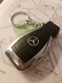 Mercedes key fob design cigarette lighter