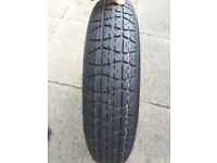 Spare wheel space saver T135/80