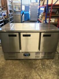 Commercial bench counter pizza fridge for pizza meat chiller restaurant takeaway ksuwhqh