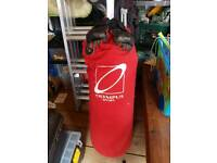 Olympus punch bag and gloves