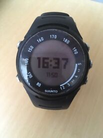 Suunto t3c sports watch, with footpod and heart rate monitor