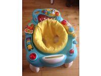 Babies activity centre. Floor standing