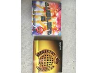 Clubland 6 and Ministry of sound cd albums