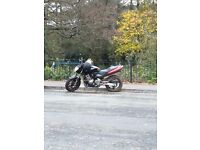 Honda CB600 for sale. Heated hand grips so Perfect winter commuter