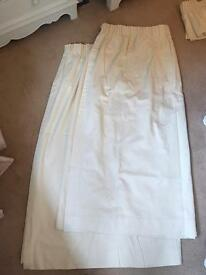 Curtains Fully Lined cream