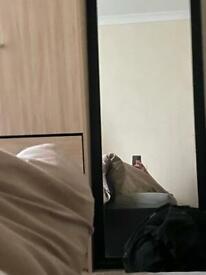 Black 5ft mirror