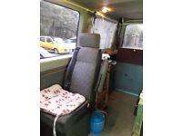 part converted camper van