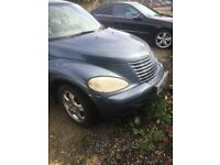 Chrysler pt cruiser no mot chrome wheels good runner