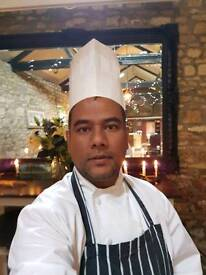 20yers cooking experience chef looking for reliable permanent chef job