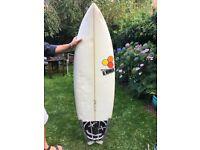 5'8'' Al Merrick 'Weirdo Ripper' Surfboard