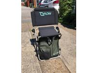 Fishing backpack Wychwood flow pack lite stool