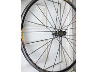 Mavic ksyrium racing bike wheels