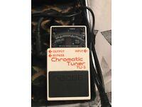 Boss TU-3 Chromatic tuning pedal