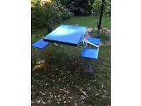 Folding picnic table/seats