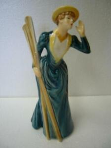 """RIVER OUTING"" GOEBEL VINTAGE FIGURINE"