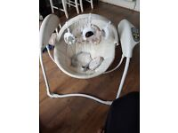 Graco's Glider Swing excellent condition