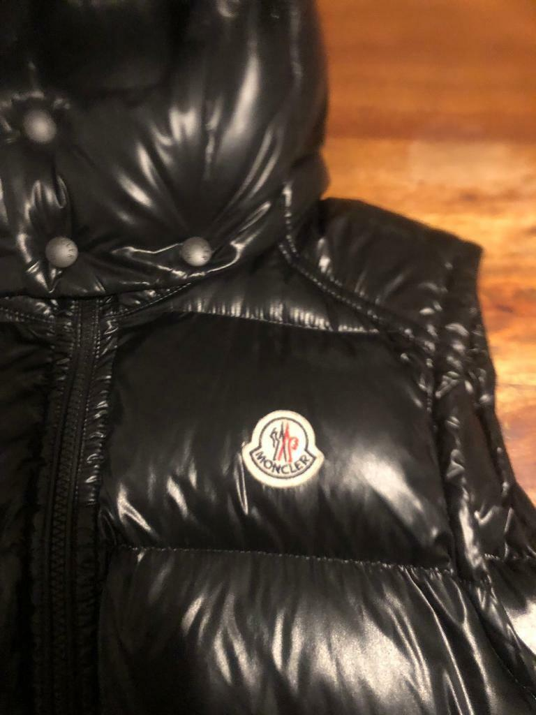 321c14da9 Moncler jacket gilet body warmer black