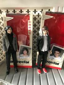 Liam and Harry dolls