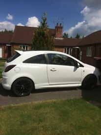 White limited edition corsa. Only ever had one owner since brand new. Full service and MOT history.