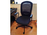 Chair, Mesh Back, Good Condition