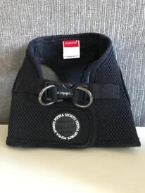 Puppia soft vest harness black size m suit small dog or puppy