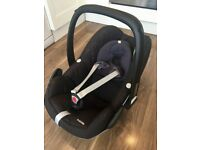 Maxi Cosi Pebble Group 0+ rear facing infant car seat, black