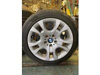 BMW complete wheels x4